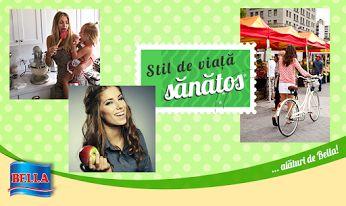 Bella incurajeaza cu stil de viata sanatos, cu bucurii marunte, plimbari nesfarsite si aer liber.  In aceasta vara, pregatiti cat mai multe picnicuri cu familia si prietenii!  www.bellafood.ro