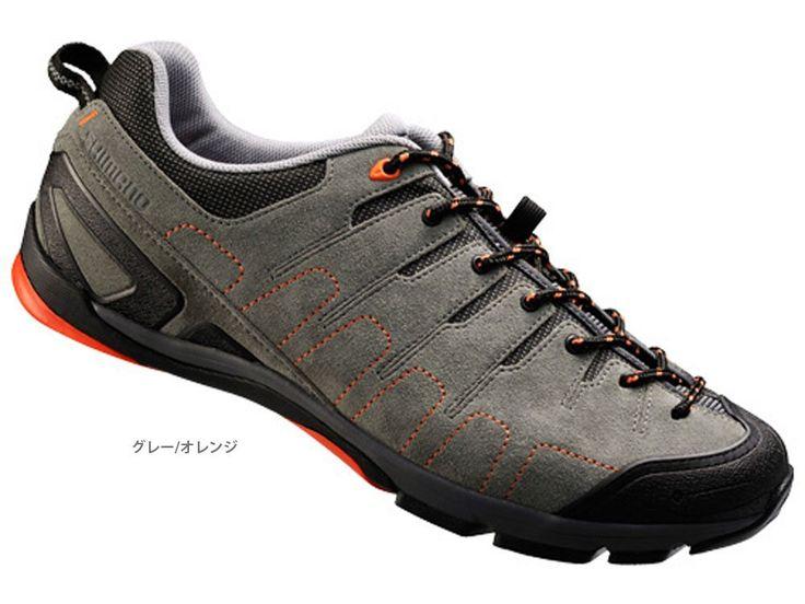 Amazon.co.jp: シマノ(SHIMANO) SH-CT80GO ビンディングシューズ SPD クリッカー グレー/オレンジ SH-CT80GO: スポーツ&アウトドア