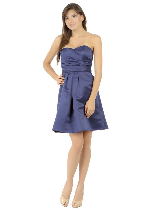 ABS Women's Navy Silk Dress - http://fancyup.me/2014/05/05/abs-womens-navy-silk-dress/