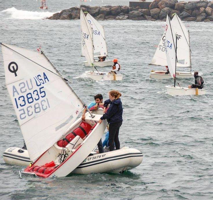 My job isn't always fun and games. Sometimes it's just games and lots of fun. #sailing #job #myjob #coaching #sail #sailboat #optimist #opti #kingharbor #fun by nick__mccabe