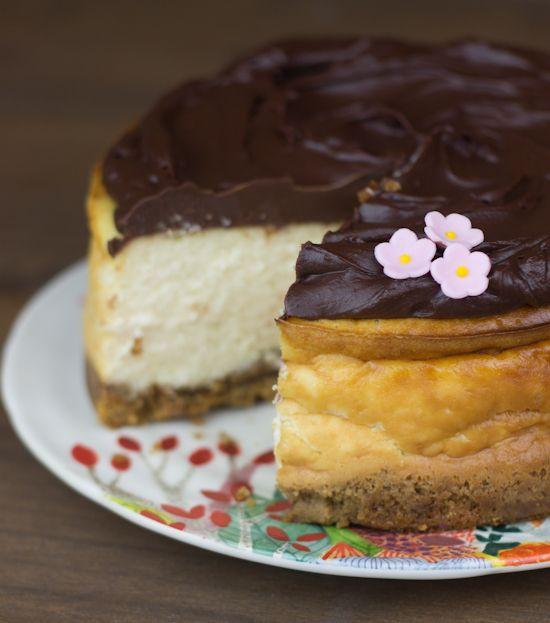 Objetivo: Cupcake Perfecto.: Cheesecake de Baileys con chocolate