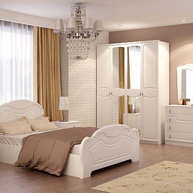 Спальня Александрина купить в Екатеринбурге | Мебелька