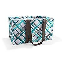 Large Utility Tote in Sea Plaid | Thirty-One Gifts.  The medium utility tote was really helpful for carting around retreat supplies... this one would be great too.