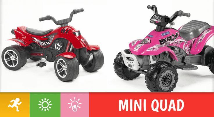 Scegliere un quad per bambino: orientiamoci tra modelli a pedali e a batteria Quad per bambini negli ultimi anni stanno diventando sempre più popolari. Questi veicoli giocattolo sono ormai la passione degli amanti dei motori e delle avventure all'aria aperta, su qualsiasi tipo #giocattoli