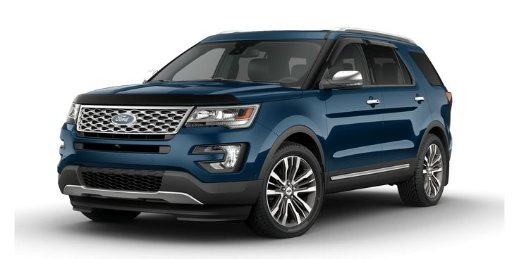 2016 Ford Explorer - Build & Price  - Platinum Explorer includes everything! In Blue Jean color or Ruby Red...