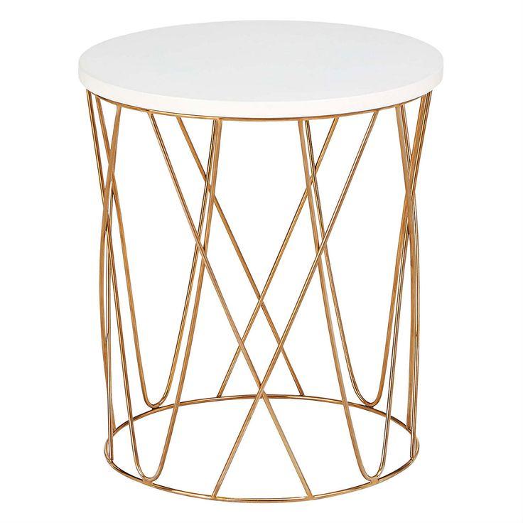 The 25 best copper side table ideas on pinterest copper table loft lena copper side table 40 x 36cm keyboard keysfo Choice Image