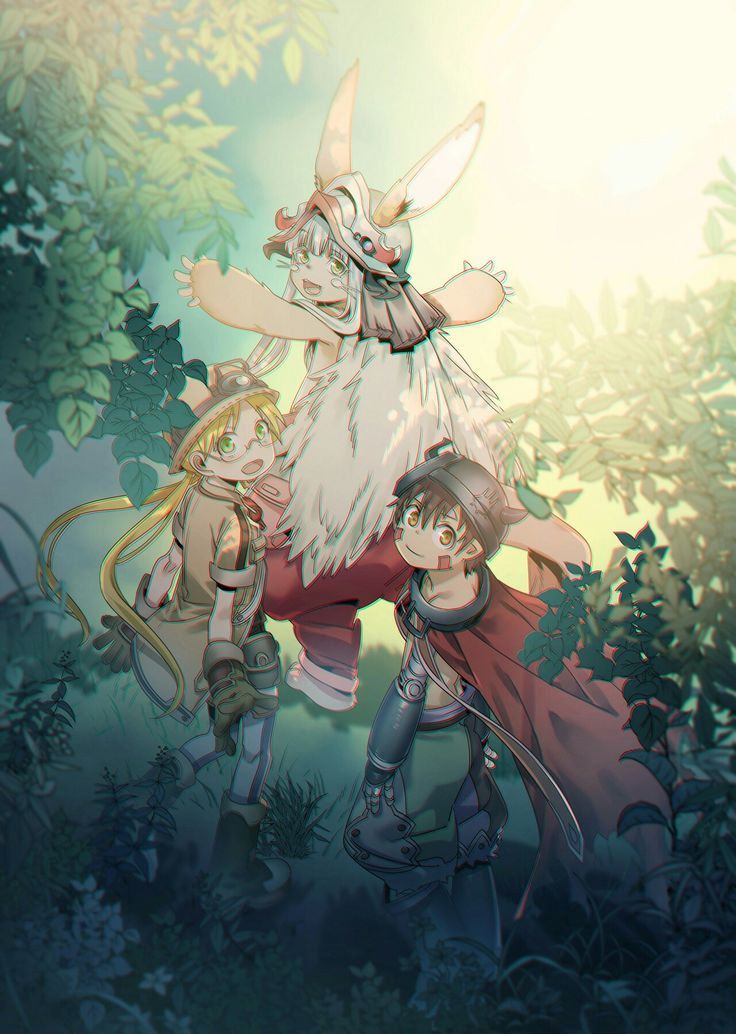 Made in abyss arte anime illustration anime