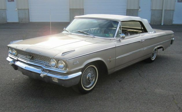 390 And 4 On The Floor 1963 Ford Galaxie Xl Convertible Ford Galaxie Galaxie Ford Galaxie 500