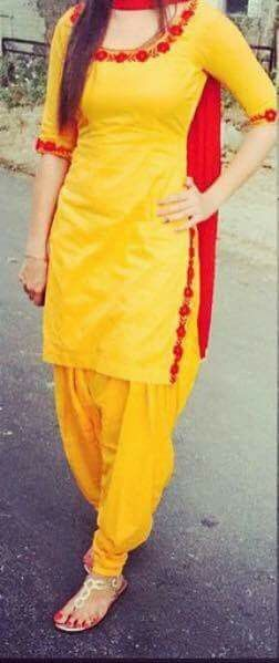 Yellow with red#great combination