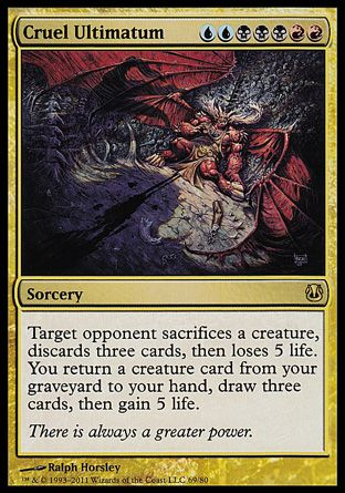 Cruel Ultimatum (Duel Decks: Ajani vs. Nicol Bolas)