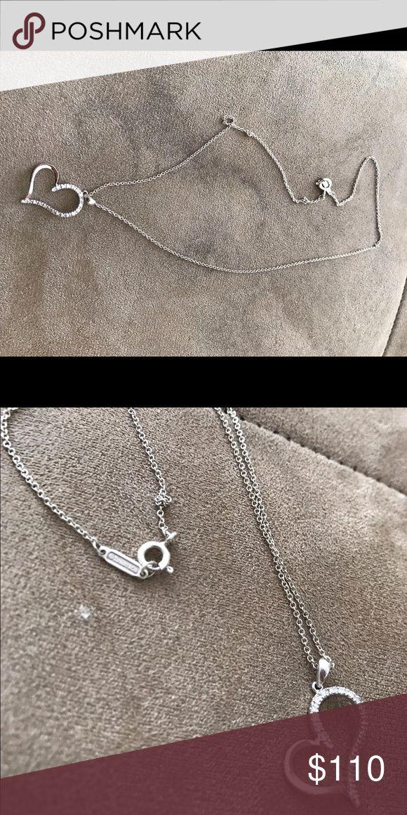 "***RECAP*** Kay Jewler Heart/Tiffany & Co. Chain Elegant ""Kays"" Heart necklace with a Tiffany & Co. Chain. Tiffany & Co. Jewelry Necklaces"