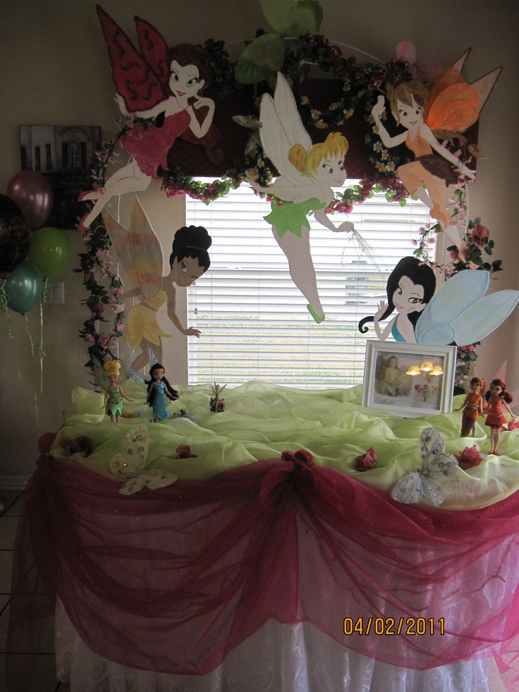 Fairy Themed Bedroom Decorations: 277 Best Images About TinkerBell / Pixie Pirate Birthday