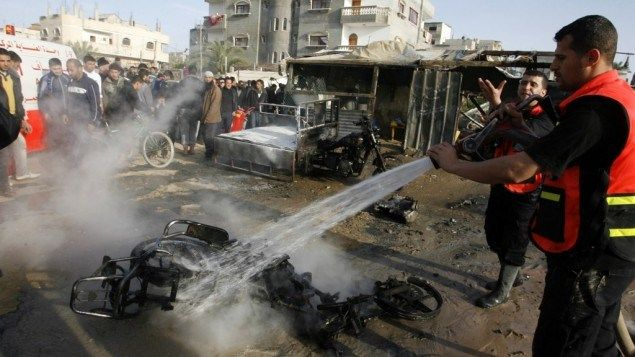 Video: Fuerza Aérea de Israel atacó un miembro de la Yihad Islámica en el norte de la Franja de Gaza el domingo por la mañana . - noticiasde...