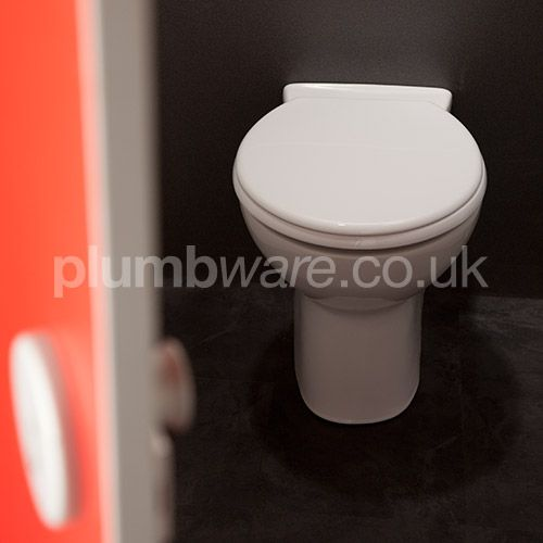 Tough and chemical resistant toilet seat and cover.