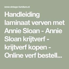 Handleiding laminaat verven met Annie Sloan - Annie Sloan krijtverf - krijtverf kopen - Online verf bestellen Annie Sloan