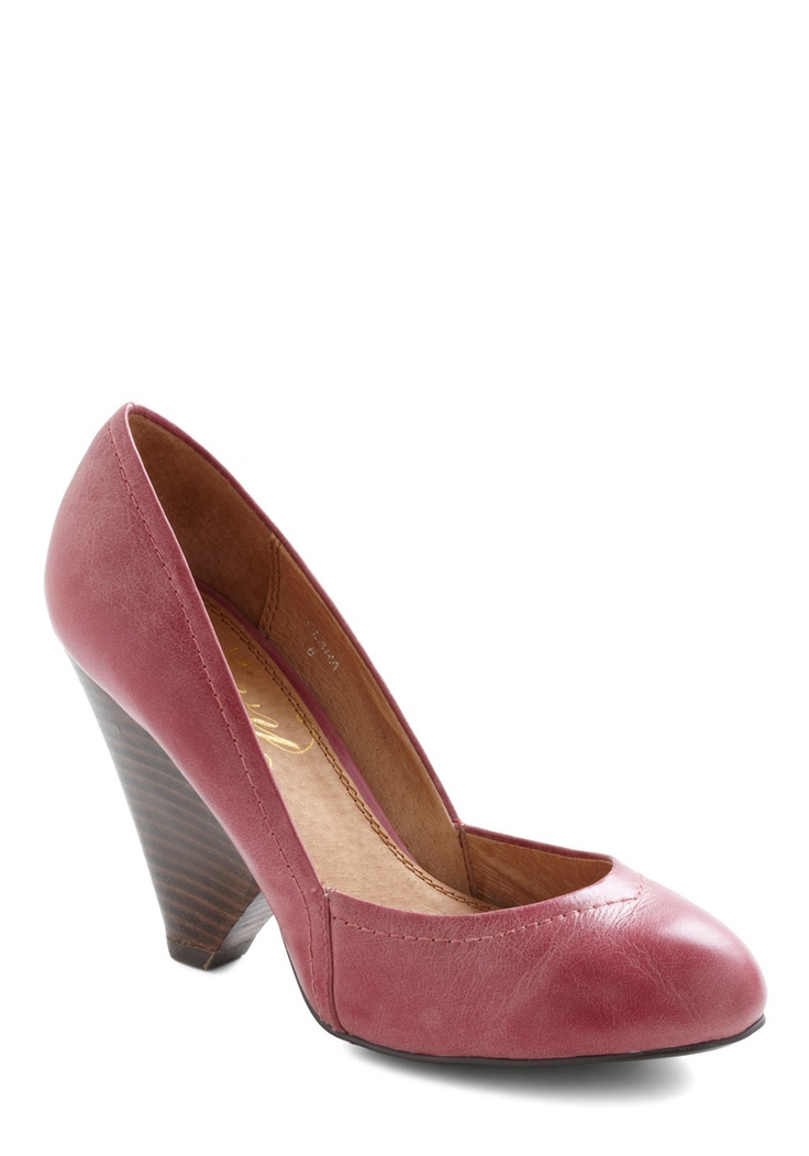 And these    Sangria Punch Heel | Mod Retro Vintage Heels | ModCloth.com