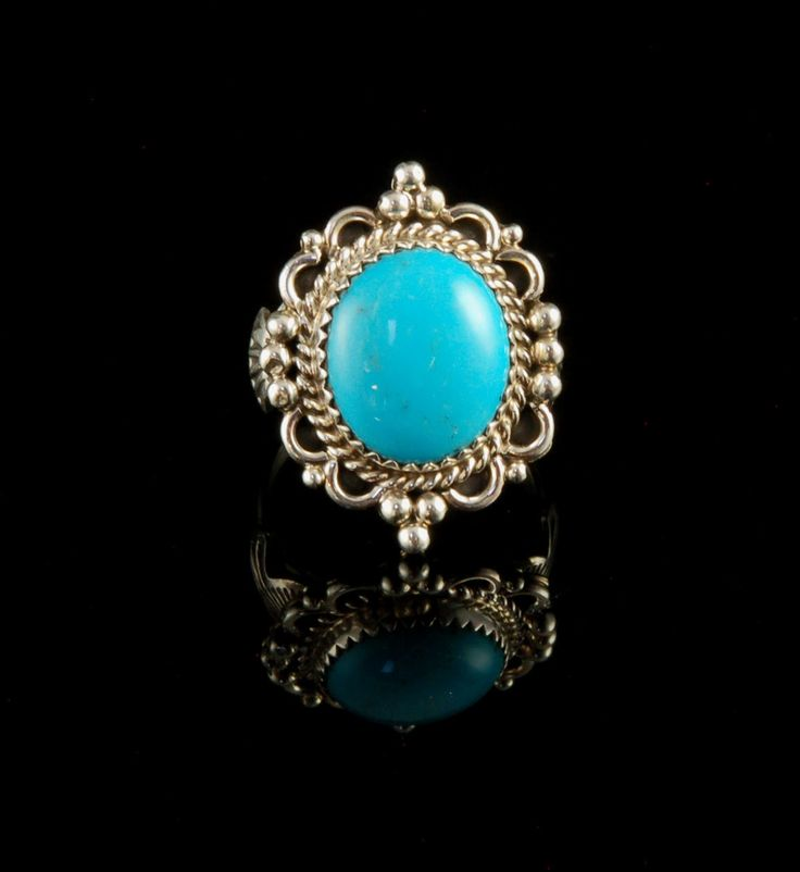 Petite Sleeping Beauty Turquoise Ring