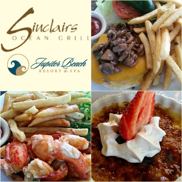 Sinclair's Ocean Grill serves up delicious food at Jupiter Beach Resort and Spa
