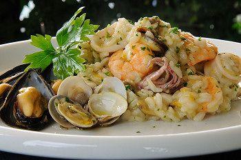 Risotto ai frutti di mare - Seafood #Italian Risotto