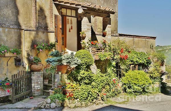 Little Paradise In Tuscany/italy/europe by Christine Huwer