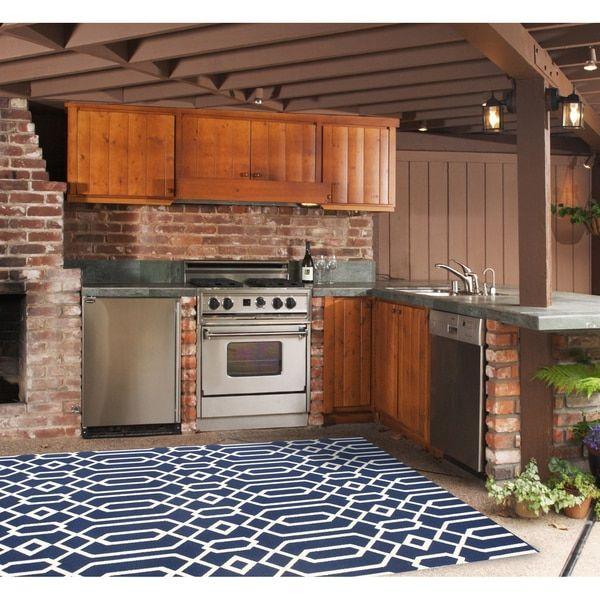 Linke Wolldecke für Innen- und Außenbereich (7 x 10 x 10 & # 39; 10)