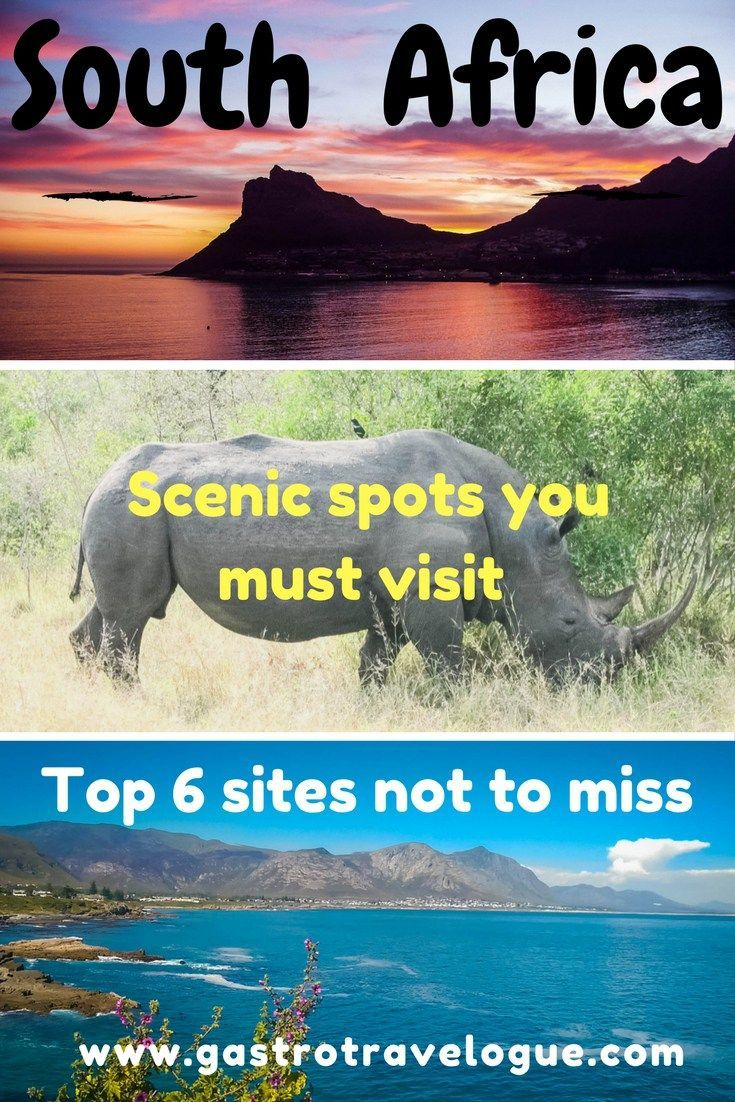 SOUTH AFRICA'S MOST BEAUTIFUL SIGHTS –  Simply the best places to visit - Gastrotravelogue