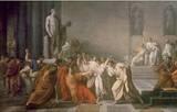 March 15, 44 BC  Julius Caesar, Dictator of the Roman Republic, is stabbed to death by Marcus Junius Brutus, Gaius Cassius Longinus, Decimus Junius Brutus and several other Roman senators on the Ides of March.
