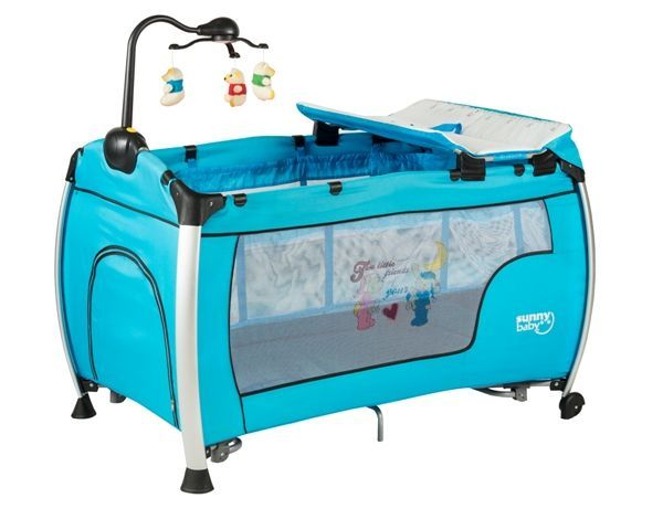 Sunny Baby 618 Delmon Oyun Parkı Mavi