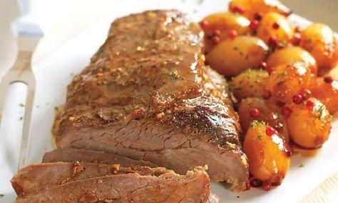 Aprenda a fazer uma Carne Assada Suculenta no Forno