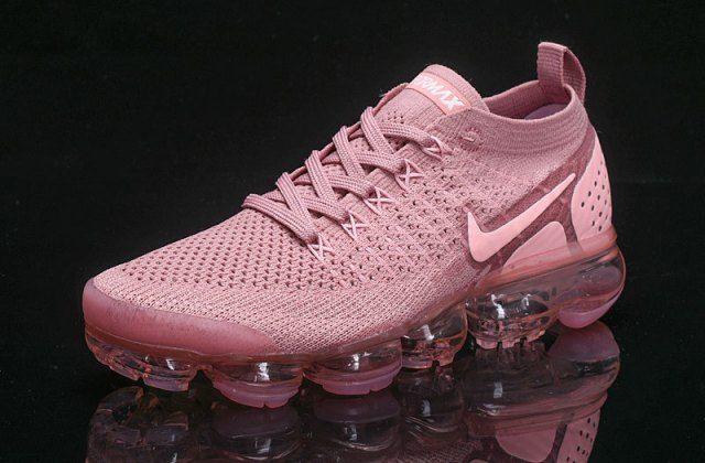 c1e62a7d68 New Arrivel Nike Air VaporMax Flyknit 2. 0 W Sakura Pink 942843 500 Womens Running  Shoes Girls Summer Trainers