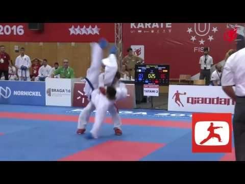 Karate Kumite - YouTube