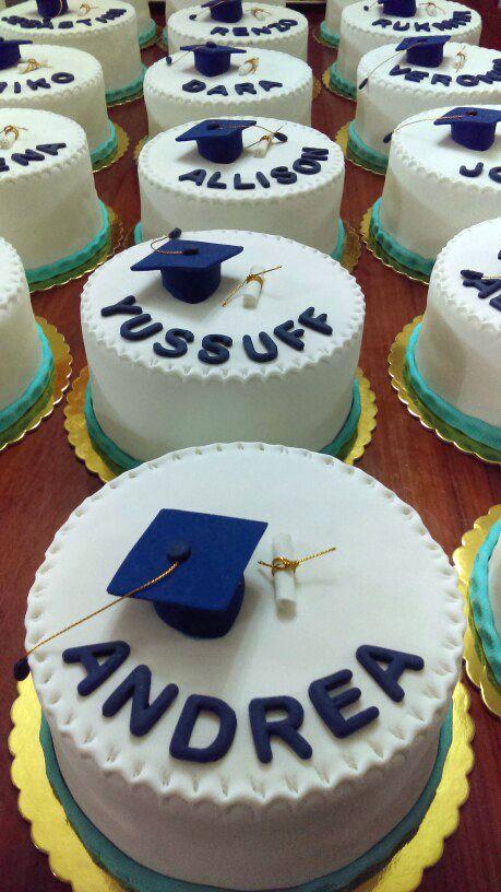 Minitortas de Graduación