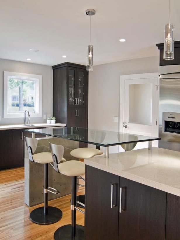 Sleek contemporary kitchen projects kitchens and for Sleek modern kitchen cabinets