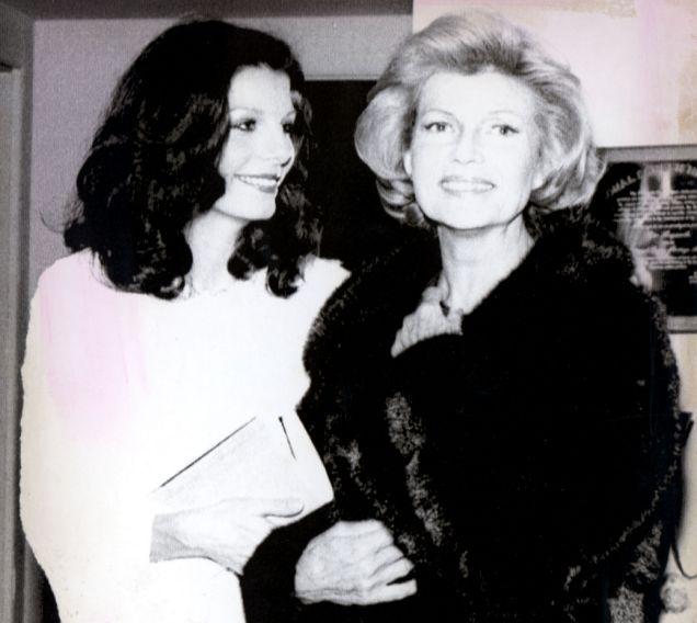 Rita Hayworth with daughter Yasmin Aga Khan: