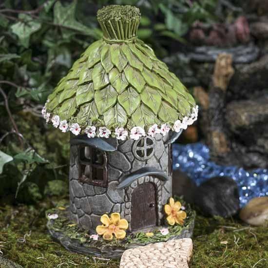 Fairy Garden Hut #fairygarden #factorydirectcraft
