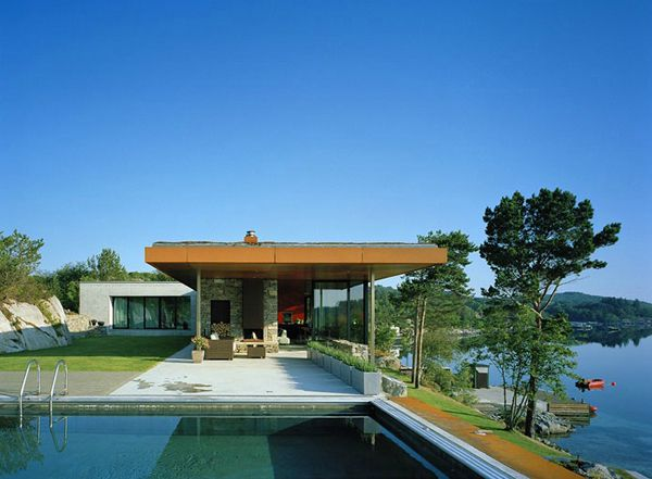scandanavian style house on the fjords a dream come true