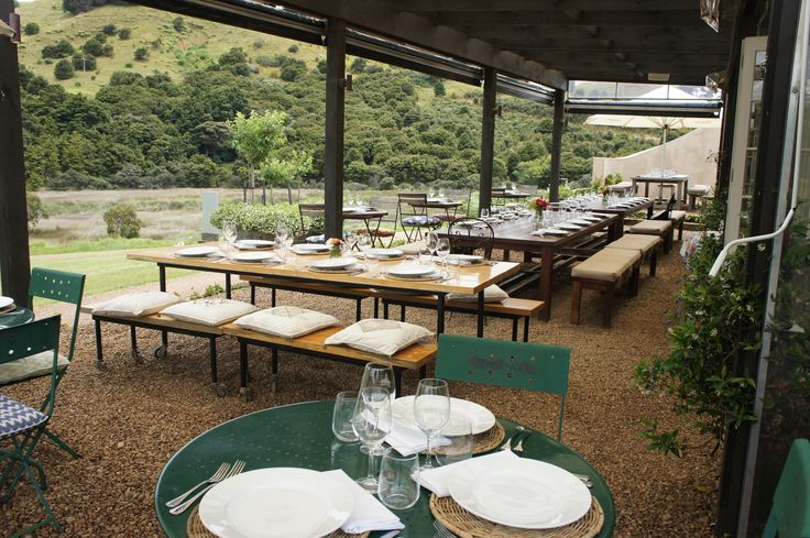 Enjoy Al Fresco dining with a breathtaking view and truly Italian cuisine! Come over to Waiheke Island!
