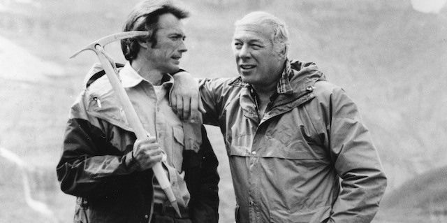 Clint Eastwood and George Kennedy, THE EIGER SANCTION, 1977, Universal ...