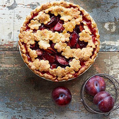 Rustic Plum Pie!   Easy Summer Fruit Pies - Homemade Fruit Pies - Good Housekeeping