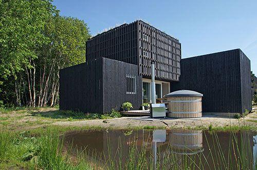 Bijzonder overnachten in bijzondere natuurlodge, Wapserveen Drenthe