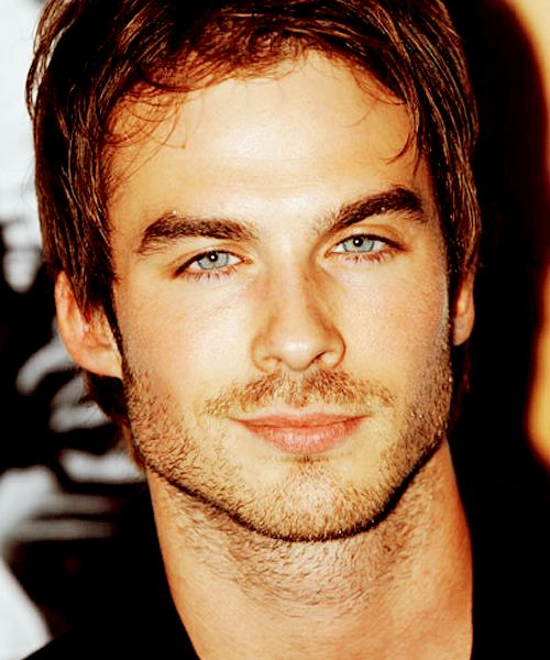 Ian may be THE most visible male celebrity in Pinterest.