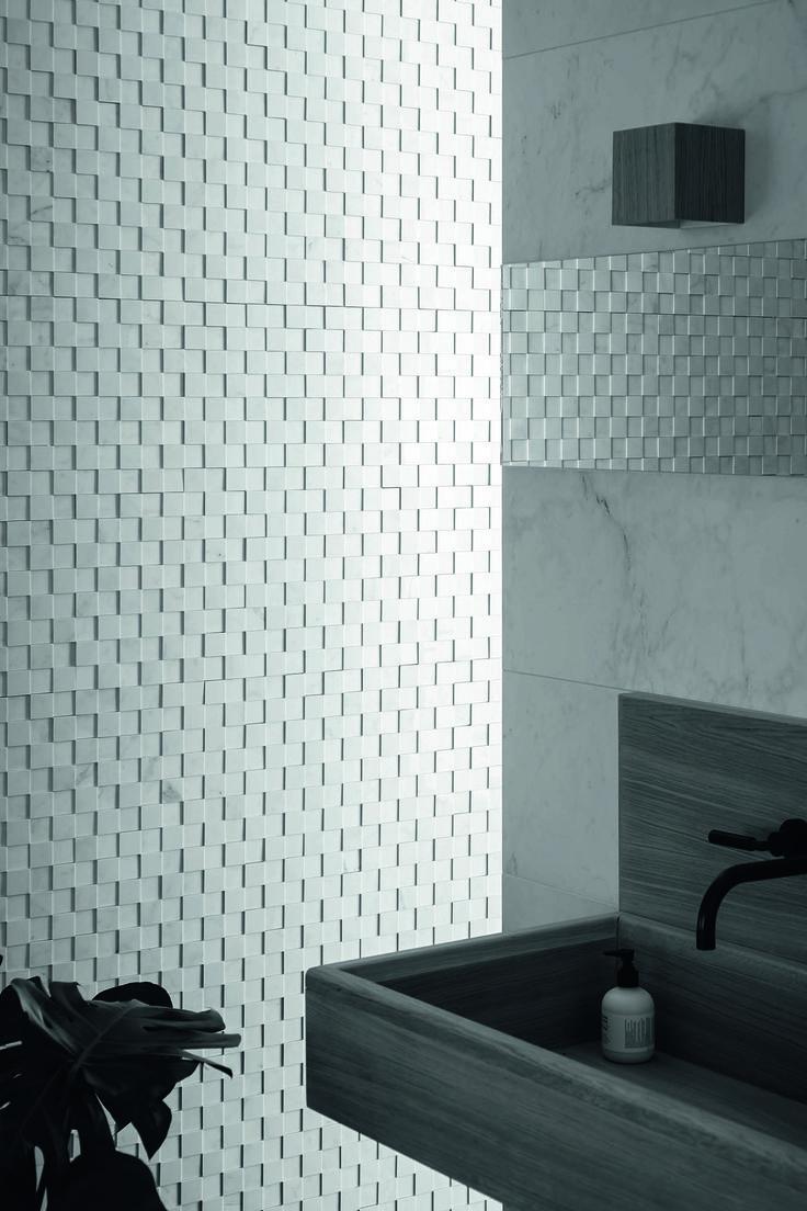 #Marazzi   #Allmarble   #porcelain   #tiles   #bathroom   #marbleeffect   #andreaferrari   #mosaic   #3D   #walls