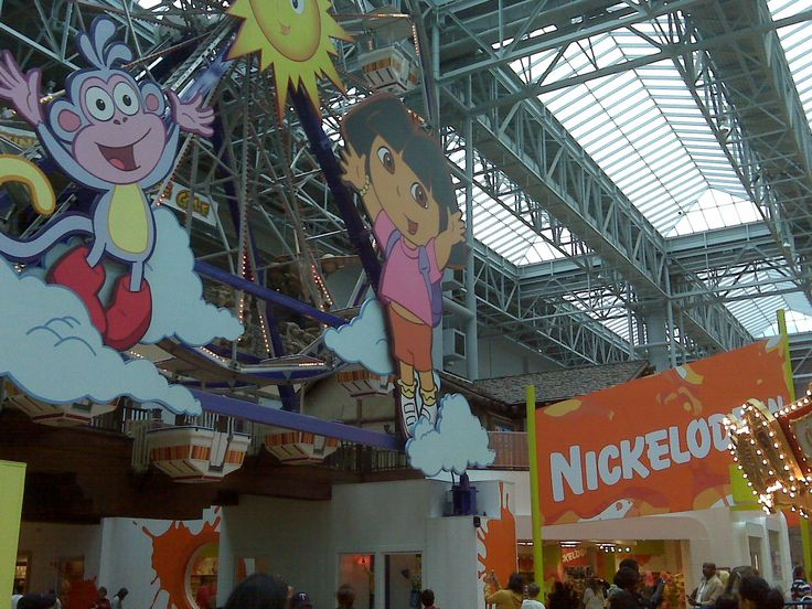 Nickelodeon Theme Park- Mall of America Minnesota