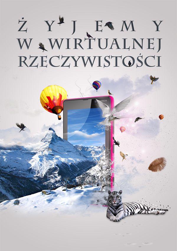 Żyjemy w wirtualnej rzeczywistości, poster