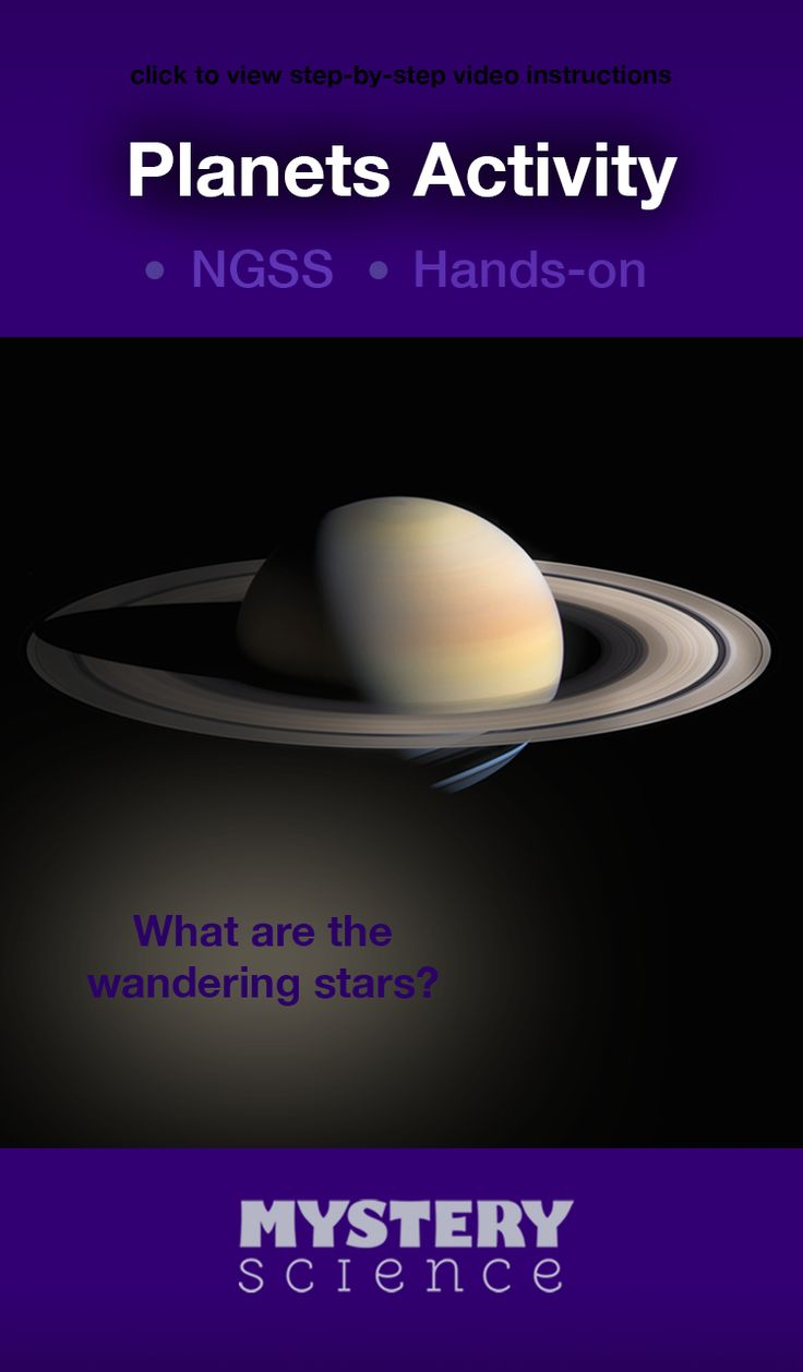 Planets Activity - free hands-on science activity for and grade elementary  kids. Part of a complete unit on Astronomy: Sun, Moon, Stars, & Planets.