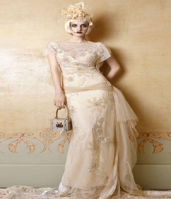 Unique vintage wedding dresses styles