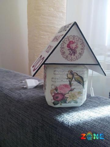 Veioza do what - HandMadeZone - Vinde si cumpara creatii handmade
