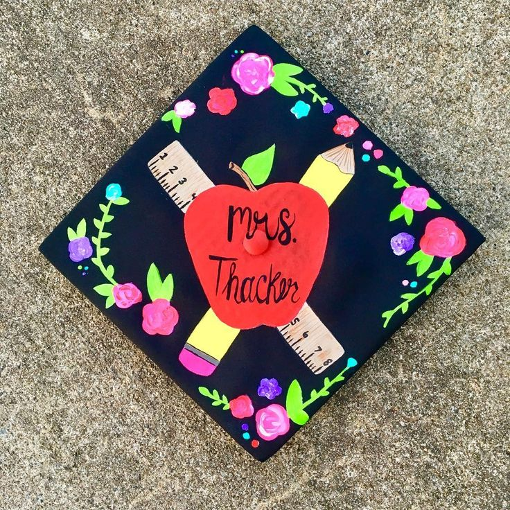 Who knew you could paint graduation caps ?! Congratulations to all graduates! #acrylic painting #art # painting # artist #absolvent
