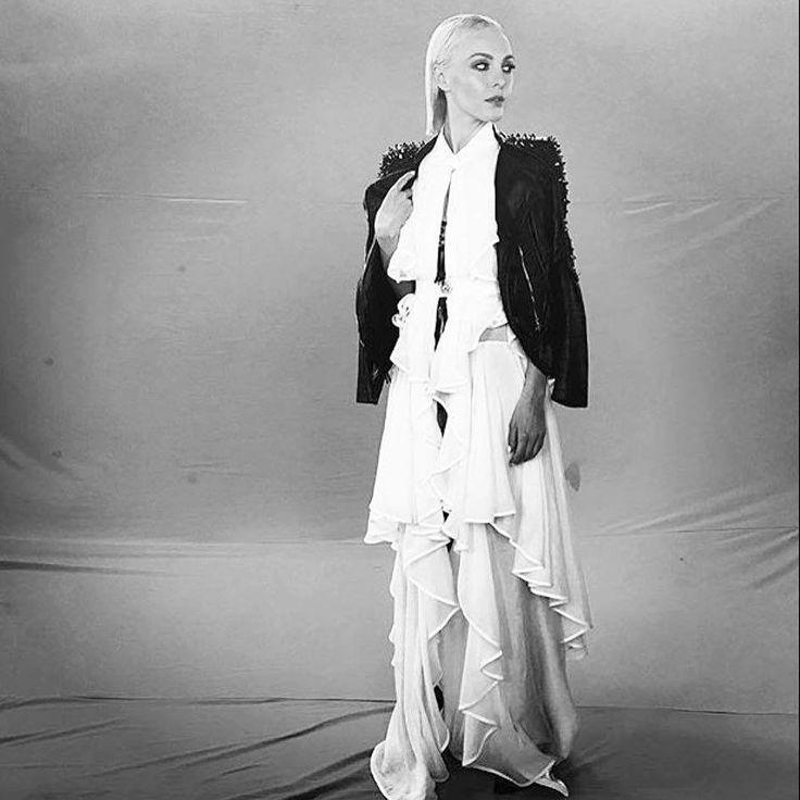 Tamta in Stelios Koudounaris. Styling @alexkatsaiti.  Find the look at Xamam | www.xamamclothes.com #xamamphilosophytowear #backstage #xfactor #xfactor2016 #ταμτα #stelioskoudounaris #ss16 #newcollection #popstar #skaitv #katsaiti #alexkatsaiti