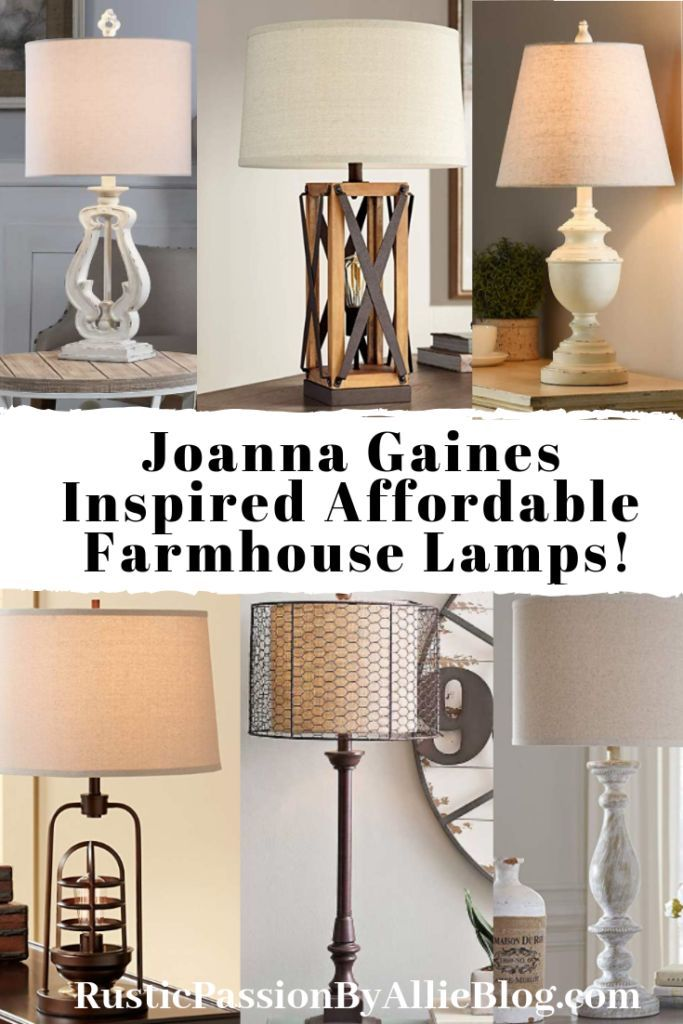 15 Affordable Vintage Farmhouse Lamps That You Need For Your Home